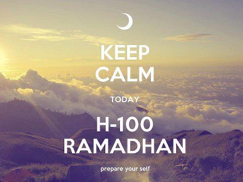 Siapkan diri untuk Ramadhan.. Sampaikanlah ya Allah...